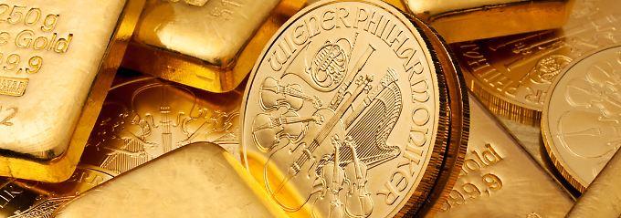 Goldhändler und Banken berechnen beim Kauf und Verkauf von Münzen und Barren ein sogenanntes Aufgeld.