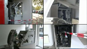 Serie in NRW reißt nicht ab: Erneut sprengen Täter Geldautomaten in die Luft