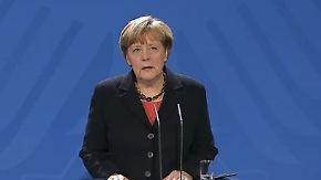 """Merkel zu Helmut Schmidts Tod: """"Aus der Wertschätzung ist tiefe Zuneigung geworden"""""""