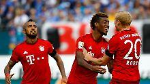 2 Tore und 5 Vorlagen: Kingsley Coman hat beim FC Bayern voll eingeschlagen.