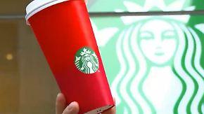 Radikale Christen sehen rot: Neues Becher-Design von Starbucks erregt die Gemüter
