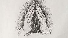 Und immer wieder: der Aufruf zu beten.