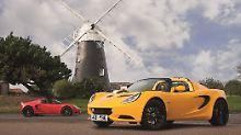 Mit dem Elise Sport und der Elise 220 bringt Lotus neuen Schwung in seine kleinen Sportler.