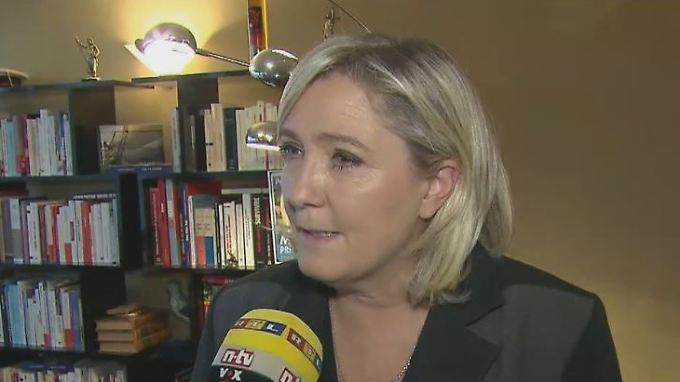 """Marine Le Pen zu Terror in Paris: """"Frankreich muss seine Grenzen wieder aufrichten"""""""