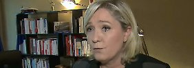 Rechtsextreme Parteichefin: Le Pen: Regierung war untätig gegen Terror