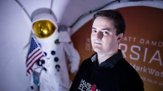 """""""Ethisch grenzwertiges"""" Projekt: Student kämpft um One-Way-Ticket zum Mars"""