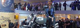 """Getreu dem Motto """"Make Life a Ride"""" zeigt BMW einen Scrambler."""