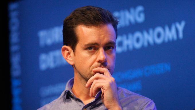 Vorstandschef von Twitter und Square: Jack Dorsey.