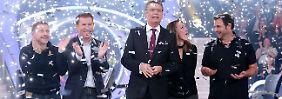 Spielten 439.000 Euro für einen guten Zweck ein: die Kandidaten.