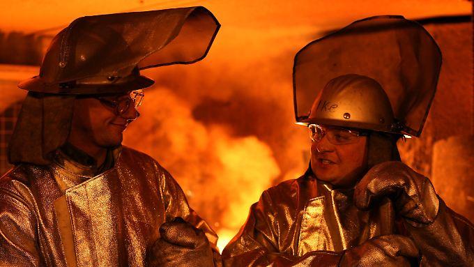 Weltweit heiß begehrt: Stahl knackt Rekordmarke