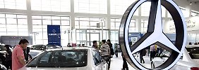 Daimler ist derzeit erfolgreich in China.