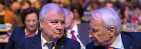 """""""Müssen Migranten zurückschicken"""": Stoiber gibt Merkel Mitschuld am Rechtsruck"""