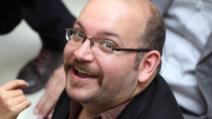 Journalist Jason Rezaian war im Juli 2014 im Iran wegen des Vorwurfs der Spionage verurteilt worden.