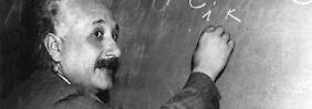 Ein Mann mit Weitblick - auch außerhalb der Wissenschaft: Albert Einstein.