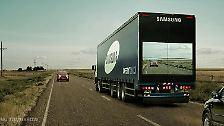 Unsichtbare Lkw und Ozean-Aufräumer: Die 25 besten Erfindungen 2015