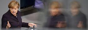 """Merkel verteidigt Flüchtlingskurs: """"Abschottung ist keine Lösung"""""""