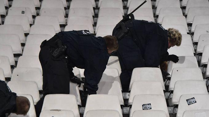 Sprengstoff wurde in Hannover nicht gefunden.