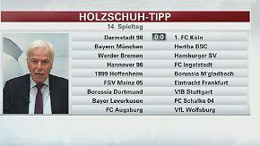 """Holzschuh tippt den Spieltag: """"Bei Schalke und Bayer kann man würfeln, was rauskommt"""""""