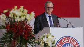 """""""Diese Partnerschaft ist ein weiterer Schritt in unserer Internationalisierungsstrategie"""": Karl-Heinz Rummenigge."""
