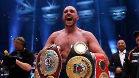 Tyson Fury wurde vor dem Kampf von Experten als völlig chancenlos eingeschätzt.
