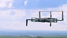Senkrechtstarter bringt Pakete: Amazon stellt neue Liefer-Drohne vor