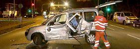 Sechs Verletzte in Karlsruhe: Jugendliche liefern sich fatales Autorennen