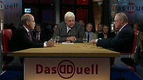 Gregor Gysi und Martin Kannegiesser: Konsens statt Klassenkampf?