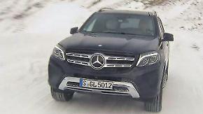 Spritztour mit dem Mercedes GLS: SUV-Schwergewicht trotzt Alpenpass mit Allradantrieb