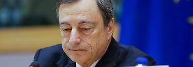 Ruf als Kommunikator hat gelitten: EZB-Spitze bremste Draghi aus