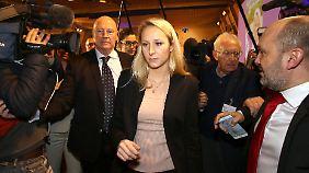 Le Pens Nichte Marion siegte in der Region Provence-Alpes-Côte d'Azur.