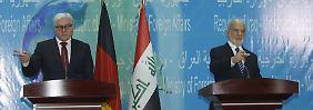 """""""Bedrohung auch für Europa"""": Irak will mehr deutsche Hilfe gegen IS"""