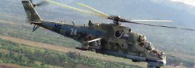 Nahe der türkischen Grenze: Russland verlegt Helikopter nach Armenien