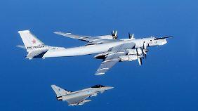 Russischer Tu-95 Bomber sind bereits im Einsatz gegen Ziele in Syrien.
