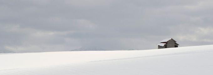 Falls Sie sich über das Schnee-Idyll wundern: Dieses Bild entstand im japanischen Hokkaido.