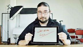 n-tv Ratgeber: Das iPad Pro von Apple unter der Lupe