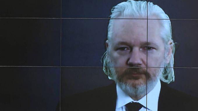 Per Videolübertragung nahm Assange in dieser Woche an einer Konferenz in Moskau teil.