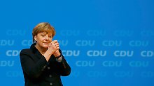 Weiter Blick statt kleiner Schritte: Merkels stärkste Rede überzeugt die CDU