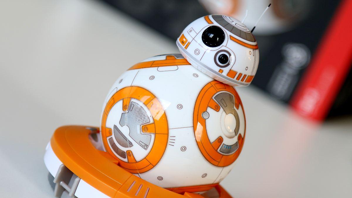 star wars droide f rs wohnzimmer sphero bb 8 ist ein s er kugel roboter n. Black Bedroom Furniture Sets. Home Design Ideas