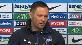 Pal Dardai sah einen desolaten Auftritt seiner Berlin gegen Zweitligist Bochum.