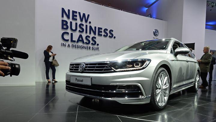 Im Jahr 2015 wurde der Passat noch als neue Business Class gefeiert.