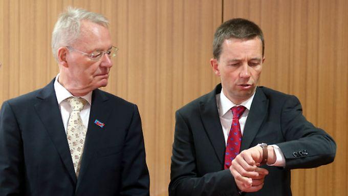 Bleiben als Tandem erhalten: Hans-Olaf Henkel folgt weiter Bernd Lucke.