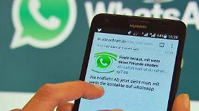 """Vorsicht Falle: """"Update"""" für Whatsapp legt Smartphone lahm"""