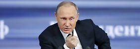 Einigung unmöglich: Putin ist ohne Hoffnung im Fall Ankara