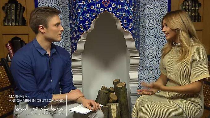 """Deutsch-arabische Talkshow: Die erste """"Marhaba""""-Sendung mit Constantin Schreiber"""
