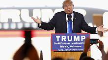 """""""Nette Komplimente"""": Trump fühlt sich geehrt von Putin-Lob"""
