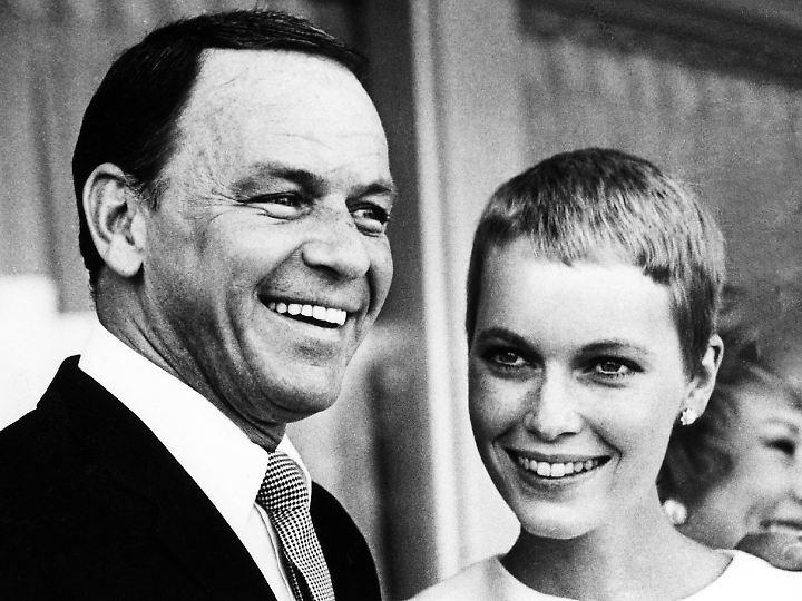 Verheiratet von 1966 - 1968: Sinatra und Farrow.