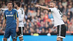 Trainer Neville konnte beim FC Valencia noch nicht für einen Kurswechsel sorgen. Gegen Getafe reichte es nur für ein Unentschieden.