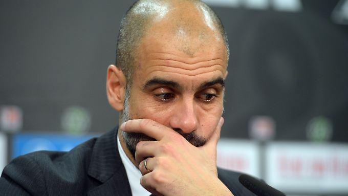 Bleibt er oder geht er? Pep Guardiola möchte sich zu seiner Zukunft beim FC Bayern noch nicht äußern.