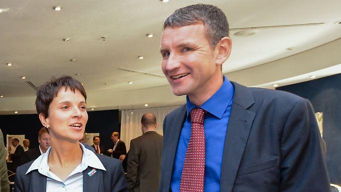 Björn Höcke ist für Frauke Petry das, was Petry früher für Bernd Lucke war: ein Problem.