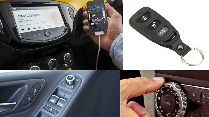 Es sind die kleinen Dinge, die das Autofahren angenehm machen.